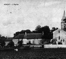 L'eglise - Photo de Jenzat, Village de la Vallée de la Sioule